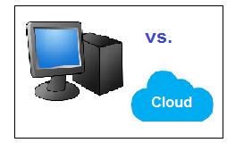 PC vs. cloud